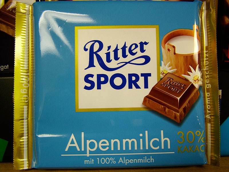 Ritter Alpine Milk Chocolate (Alpenmilch)