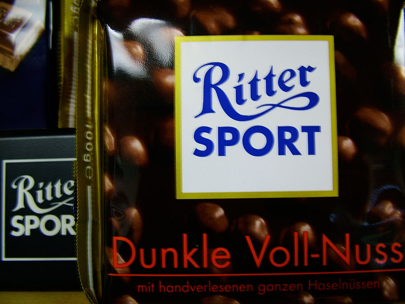 Ritter Dark Whole Hazelnut (Dunkle Voll-Nuss)
