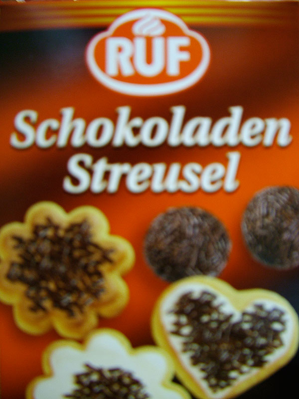 Ruf Chocolate Sprinkles